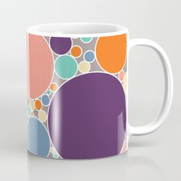 Circles Filled With Fresh Spring Colours #1 Coffee Mug