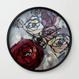 Roses4422 Wall Clock