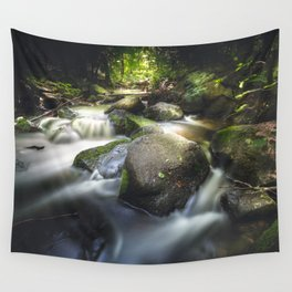 Even in darkness there´s light Wall Tapestry