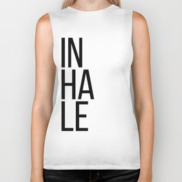 Inhale exhale (1 of 2) Biker Tank