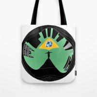 rio de janeiro Tote Bags featuring Rio de Janeiro by siloto