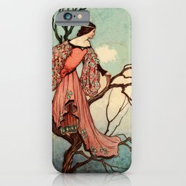 Princess on the lookout iPhone Case