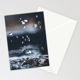 Rain Falling Stationery Cards