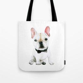 Little Gentleman French Buldog Tote Bag