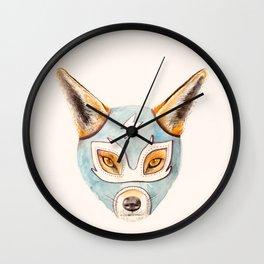 Andrew, the Fox Wrestler Wall Clock
