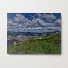 Hutt Valley Landscape Metal Print
