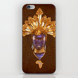 Golden Africa iPhone Skin