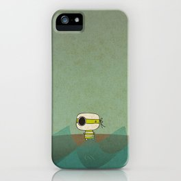 Little Green Pirate iPhone Case