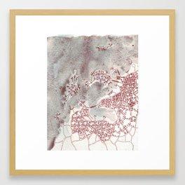 Coffee Stain Civilization (Cityspace #97) Framed Art Print