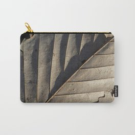 Shadowed Leaf Carry-All Pouch