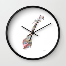 Norway Wall Clock