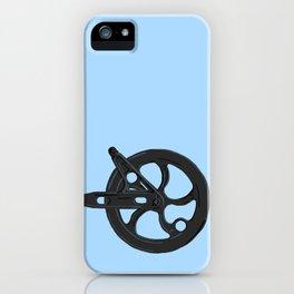 Clothes line wheel iPhone Case