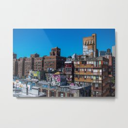 Chinatown NYC Metal Print