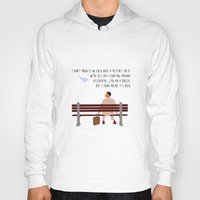 forrest gump Hoodies featuring Forrest Gump by Christina