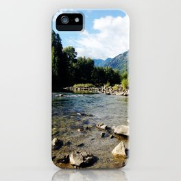 I Go Where The Mountains Take Me iPhone Case