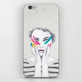 War Paint Ramona iPhone Skin