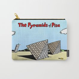 The Pyramids of Pisa Carry-All Pouch