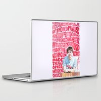 arctic monkeys Laptop & iPad Skins featuring Bigger Boys and Stolen Sweethearts - Arctic Monkeys by Frances May K