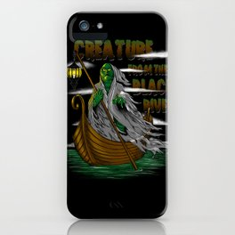 Pay the Gill-Man iPhone Case