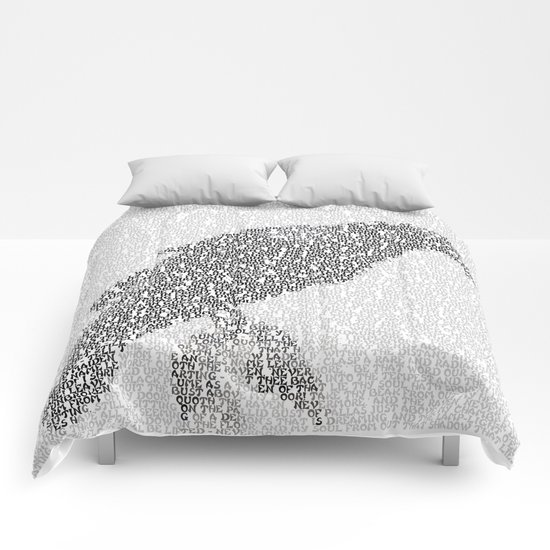 The Raven (simple) Comforters