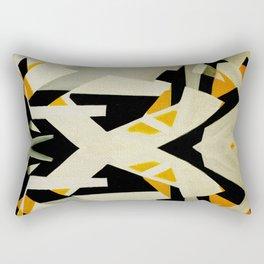 Un Perro Juguetón Rectangular Pillow