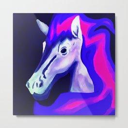 Secret Pony Metal Print