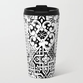 celtic knot black & white Travel Mug