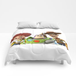 3 story toy Comforters