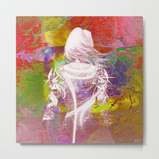 """"""" Isabelle """" Metal Print"""