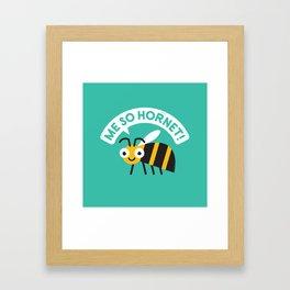 Full Metal Yellow Jacket Framed Art Print