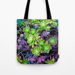 Green Fantasy by Lika Ramati Tote Bag