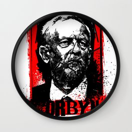 Corbyn 2017 Wall Clock