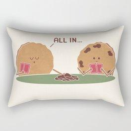 All In Rectangular Pillow