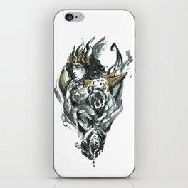Inktober 2018: Cruel Queen of Hearts iPhone Skin