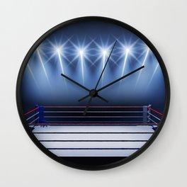 Boxing arena Wall Clock
