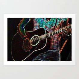 Guitar 1 Art Print
