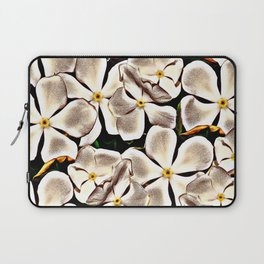 White flowers Laptop Sleeve