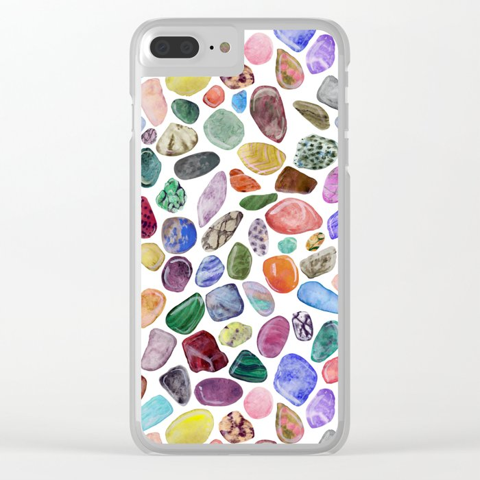 Rock Collection Clear iPhone Case