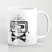 tape Mugs featuring Pirate Tape by melted