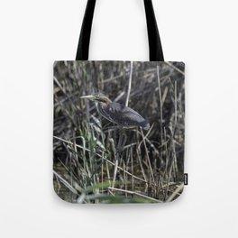 Green Heron Tote Bag