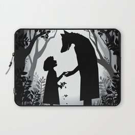 Meeting The Wolf Laptop Sleeve