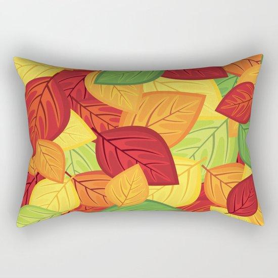 Autumn leaves #8 Rectangular Pillow