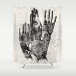 Healer Shower Curtain
