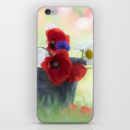 Poppies Symphonies iPhone Skin