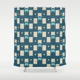 Art Deco Geometric Pattern 274 Shower Curtain