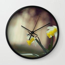 Manor Garden Wall Clock