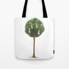 Bunny Tree Tote Bag