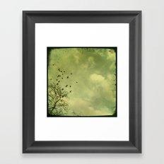 Sayonara. Framed Art Print