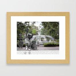 Foray to Forsyth Framed Art Print