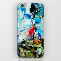BAT VS. GOD iPhone & iPod Skin